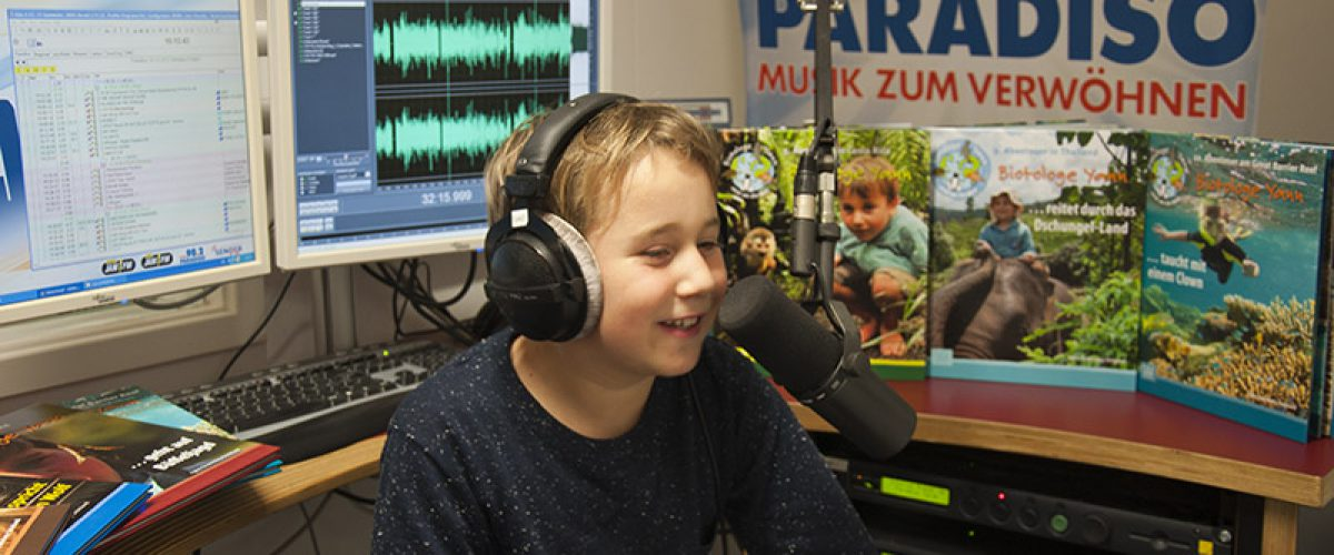 Biotologe Yann on air bei Radio Paradiso
